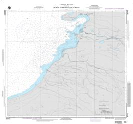 North Star Bugt Anchorage Nautical Chart (38343) by National Geospatial-Intelligence Agency