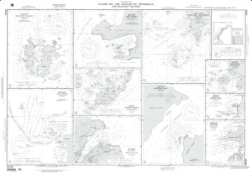 Plans On Antarctic Peninsula And Adjacent Islands; Plan F: Adelaide Anchorage (NGA-29106-5) by National Geospatial-Intelligence Agency