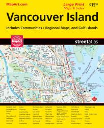 Vancouver Island Area Road Atlas by Canadian Cartographics Corporation