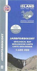 Iceland Geological Map by Mal og menning