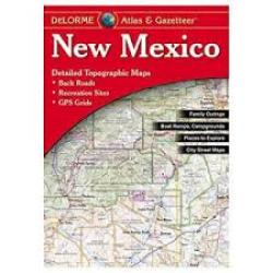 New Mexico, Atlas and Gazetteer by DeLorme