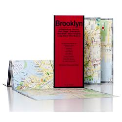 Brooklyn, New York with Long Island City by Red Maps