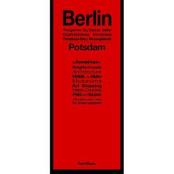 Berlin and Potsdam, Germany by Red Maps