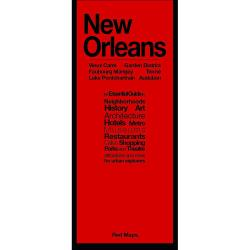 New Orleans, LA: French Quarter, Downtown, Garden District, City Park, Audubon, Uptown, Marigny by Red Maps
