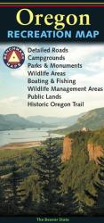 Oregon Recreation Map by Benchmark Maps