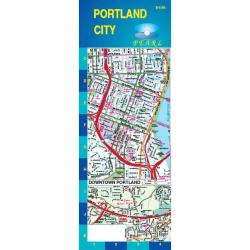 Portland, Oregon, Pearl Map, Laminated by GM Johnson