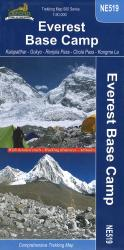 Everest Base Camp Trekking Map by Nepa Maps
