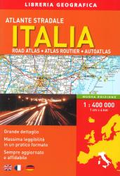 Italy, Road Atlas by Libreria Geografica
