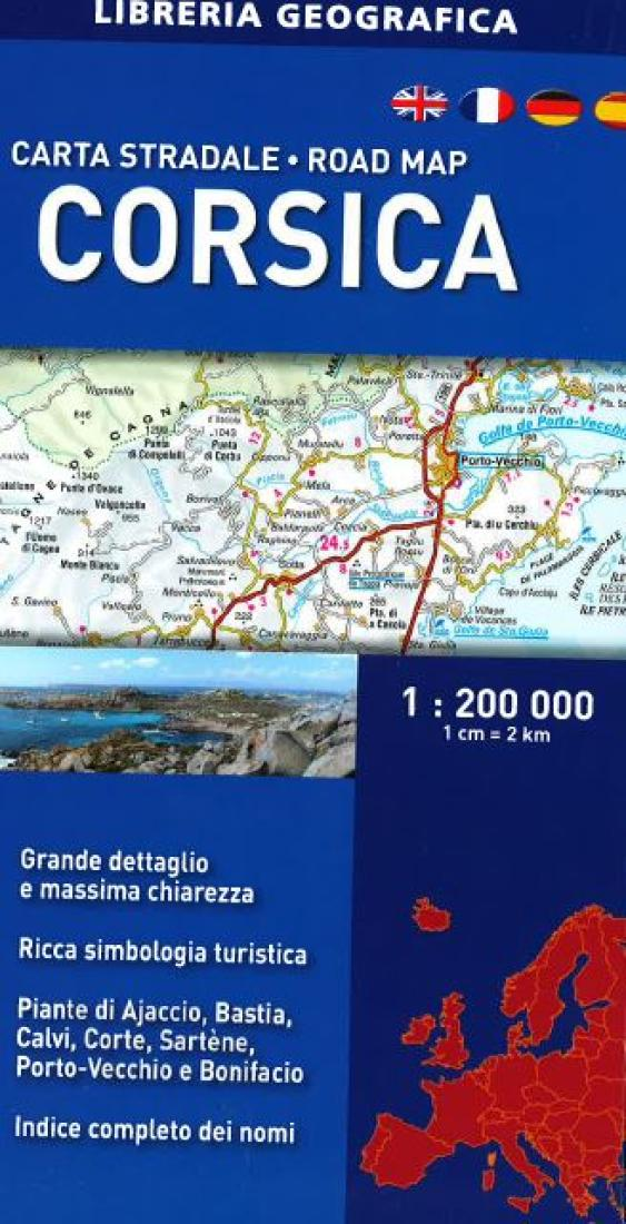 Road Map by Libreria Geografica