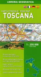 Tuscany/Toscana, Road Map by Libreria Geografica