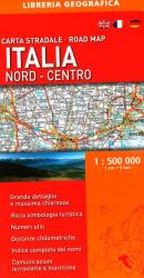 Italy, North-Central, Road Map by Libreria Geografica