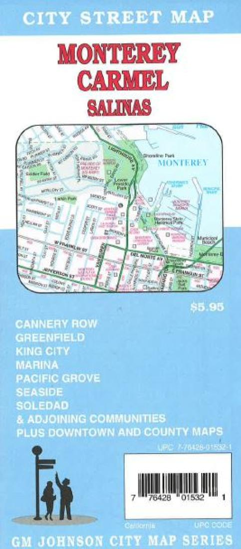 Monterey Carmel And Salinas California By Gm Johnson