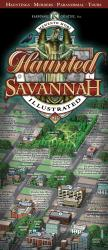 Savannah, Georgia, Haunted Map by Karpovage Creative, Inc.