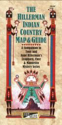 The Hillerman Indian Country Map and Guide by Time Traveler Maps