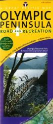 Olympic Peninsula, Road and Recreation by Great Pacific Recreation & Travel Maps