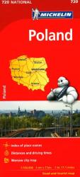 Poland (720) by Michelin Maps and Guides