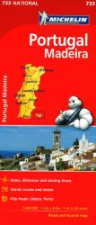 Portugal with Madeira (733) by Michelin Maps and Guides