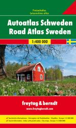 Sweden, Road Atlas by Freytag-Berndt und Artaria