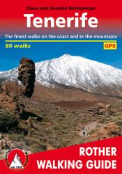 Tenerife, Rother Walking Guide by Rother Walking Guide, Bergverlag Rudolf Rother