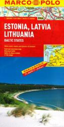 Estonia, Latvia, Lithuania [Baltic States] by Marco Polo Travel Publishing Ltd