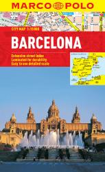 Barcelona, Spain by Marco Polo Travel Publishing Ltd