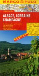 Alsace, Lorraine and Champagne, France by Marco Polo Travel Publishing Ltd