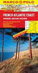 French Atlantic Coast by Marco Polo Travel Publishing Ltd