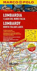 Lombardy and Northern Italian Lakes by Marco Polo Travel Publishing Ltd