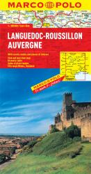 Languedoc-Roussillon and Auvergne, France by Marco Polo Travel Publishing Ltd