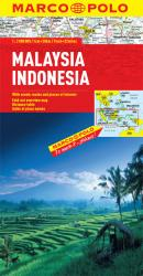 Malaysia and Indonensia by Marco Polo Travel Publishing Ltd