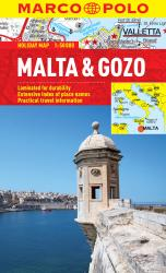 Malta and Gozo by Marco Polo Travel Publishing Ltd