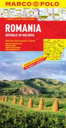 Romania & Republic of Moldova by Marco Polo Travel Publishing Ltd