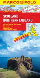 Scotland and Northern England by Marco Polo Travel Publishing Ltd