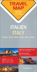 Italy Travel Map by Kunth Verlag