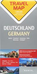 Germany Travel Map by Kunth Verlag
