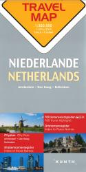 Netherlands Travel Map by Kunth Verlag