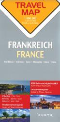 France Travel Map by Kunth Verlag