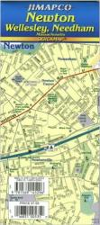 Newton, Wellesley and Needham, Massachusetts, Quickmap by Jimapco