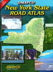 New York State, Road Atlas by Jimapco