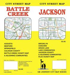 Battle Creek and Vicinity, Michigan by GM Johnson