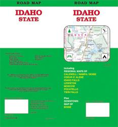 Idaho, Road Map by GM Johnson