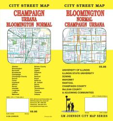 Bloomington, Normal, Champaign and Urbana, Illinois by GM Johnson