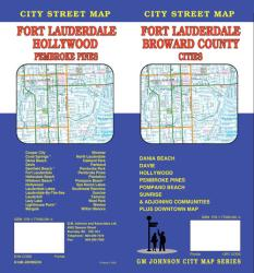 Fort Lauderdale and Broward County Cities, Florida by GM Johnson