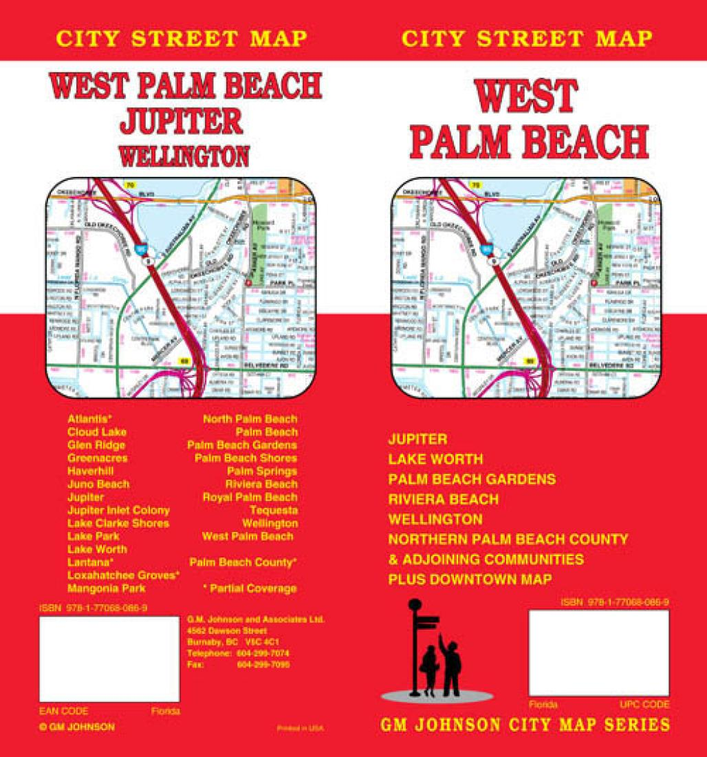 Map Of West Palm Beach Florida.West Palm Beach Florida By Gm Johnson