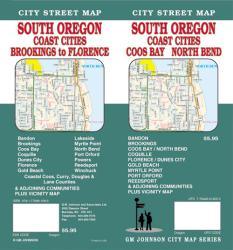 Oregon, South with Coast Cities, Coos Bay and North Bend by GM Johnson