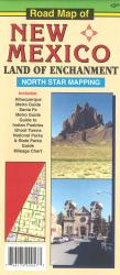 Road Map of New Mexico by North Star Mapping