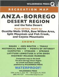 Anza-Borrego Desert State Park, California by Wilderness Press