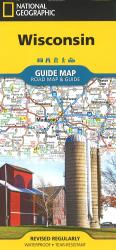 Wisconsin Guide Map by National Geographic Maps