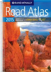 United States, 2015 Large Scale Easy to Read Road Atlas by Rand McNally