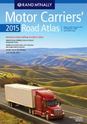 USA, Mexico, Canada, 2015 Motor Carriers' Road Atlas by Rand McNally